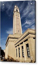 Memorial Tower - Lsu Acrylic Print by Scott Pellegrin