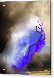 Mental Health Degeneration Acrylic Print by Tim Vernon
