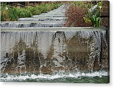 Meridian Hill Park Acrylic Print by Cora Wandel