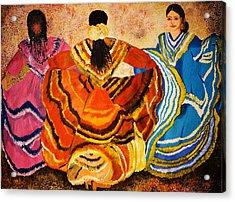 Mexican Fiesta Acrylic Print
