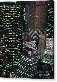 Midtown Manhattan Acrylic Print by Rafael Macia