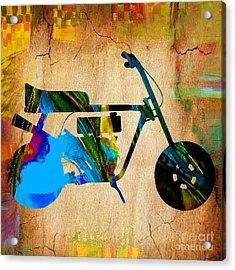 Mini Bike Art Acrylic Print by Marvin Blaine