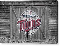 Minnesota Twins Acrylic Print