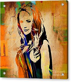 Miranda Lambert Collection Acrylic Print by Marvin Blaine