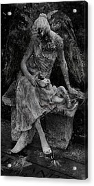 Miseries Acrylic Print by David Fox