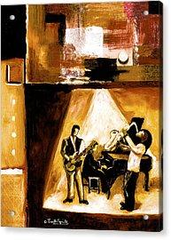 Modern Jazz Number One Acrylic Print