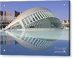 The Hemisferic In Valencia Spain Acrylic Print