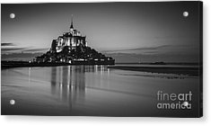Mont-st-michel Normandy France Acrylic Print