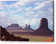 Monument Valley Acrylic Print by Pamela Schreckengost