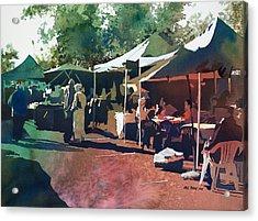 Morning Market Acrylic Print