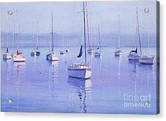 Morning Reflections Acrylic Print by Karol Wyckoff