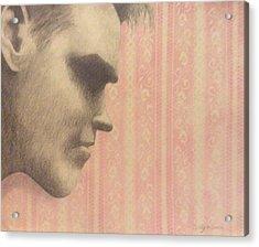 Morrissey Acrylic Print by Cynthia Hilliard