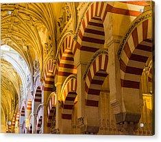 Mosque Cathedral Of Cordoba  Acrylic Print by Andrea Mazzocchetti