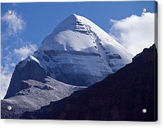 Mount Kailash Acrylic Print