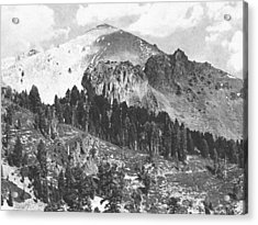 Mount Lassen Volcano Acrylic Print by Frank Wilson