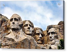 Mount Rushmore Monument Acrylic Print by Olivier Le Queinec