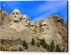 Mount Rushmore South Dakota Acrylic Print