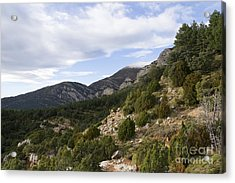 Mountain Landscape In Huesca Acrylic Print
