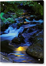 Mountain Stream Acrylic Print by Frozen in Time Fine Art Photography