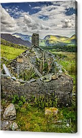 Mountain View Acrylic Print by Adrian Evans