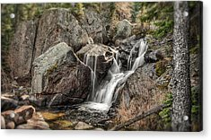Mountain Waterfall Acrylic Print