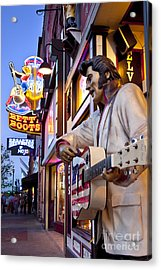 Music City Usa Acrylic Print by Brian Jannsen