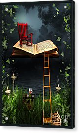 My Book Said Come Fly With Me Acrylic Print by Paula Ayers