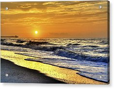 Myrtle Beach South Carolina Sunrise Acrylic Print