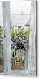 Nantucket Room View Acrylic Print by Carol Flagg