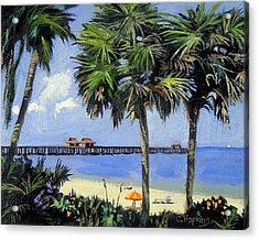 Naples Pier Naples Florida Acrylic Print