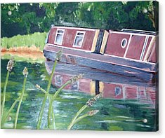 Narrowboat Acrylic Print