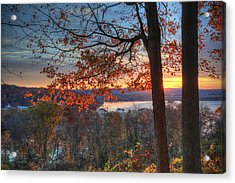 Nathan's View Acrylic Print by Jaki Miller