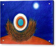 Nesting Moon Acrylic Print