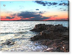 New Haven Acrylic Print by Andrea Galiffi