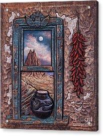 New Mexico Window Acrylic Print