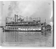 New Orleans Steamboat Acrylic Print by Granger