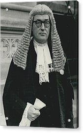 New Queen�s Counsel Sworn - In At House Of Lords Acrylic Print by Retro Images Archive