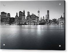 New York City Skyline Acrylic Print by Vivienne Gucwa