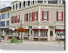 New York, Cooperstown Acrylic Print by Cindy Miller Hopkins