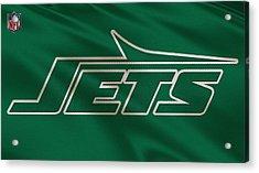 New York Jets Uniform Acrylic Print