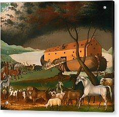 Noah's Ark Acrylic Print by Mountain Dreams