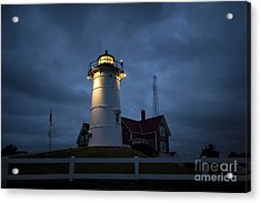 Nobska Lighthouse Acrylic Print by John Greim