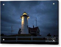 Nobska Lighthouse Acrylic Print by John Greim