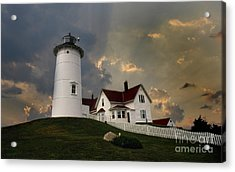 Nobska Lighthouse Color  Acrylic Print