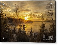 Acrylic Print featuring the photograph Norway by Rose-Maries Pictures