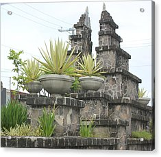 Acrylic Print featuring the photograph Nusa Dua by Cyril Maza