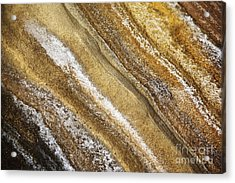 Ocean Cliff Textures 3 Acrylic Print