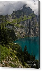 Oeschinensee - Swiss Alps - Switzerland Acrylic Print