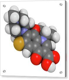 Ofloxacin Fluoroquinolone Antibiotic Drug Acrylic Print