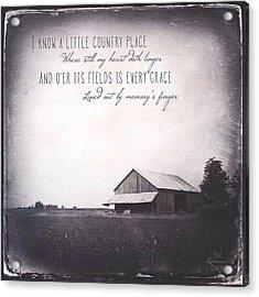 Ohio Acrylic Print